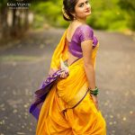 Unique Silk Sarees and Blouse Designs for Parties